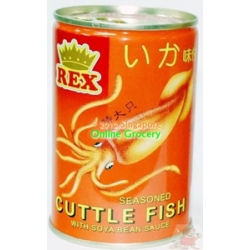 Rex Seasoned Cuttlefish with Soya Bean Sauce 425gm