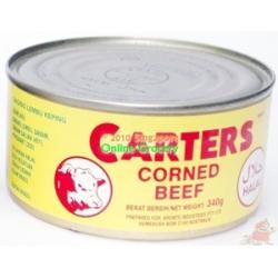 Carters Corned Beef 340gm