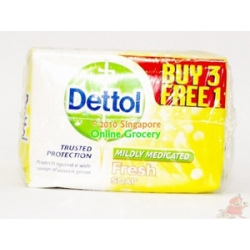 Dettol Mildly Medicated Soap 3+1
