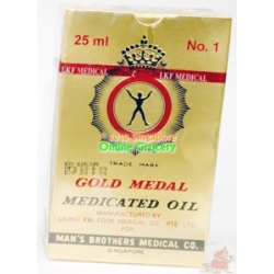Gold Medal Medicated Oil 3 ml