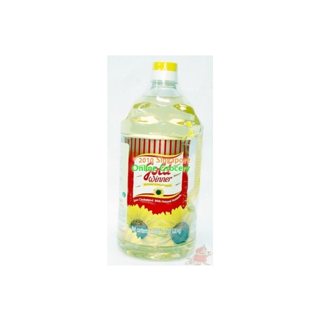 Goldwinner Refined Sunflower Oil 2L
