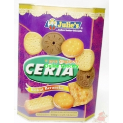 Julie's Ceria Assorted Biscuits 600gm