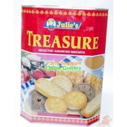Julies Treasure Assorted Biscuits 600gm
