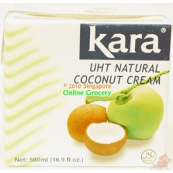 Kara UHT Natural Coconut Cream 500 ml