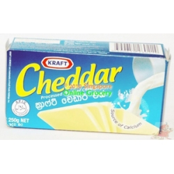 Kraft Cheddar Cheese 250gm