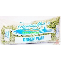 Mountain Mist green peas