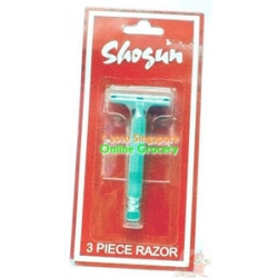 Shogun 3 Piece Razor