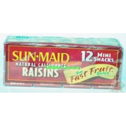 Sun Maid Natural California Raisins 12-14gm