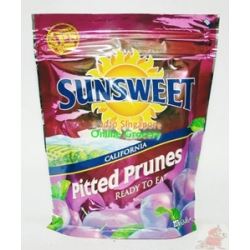 Sunsweet Pitted Prunes Packet 340gm