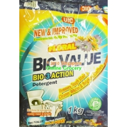UIC Floral Big Value Bio-3-Action Detergent Powder 1 kg