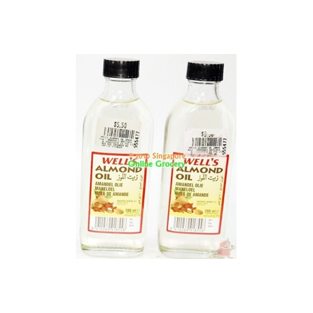 Well's Almond Oil 200ml