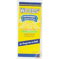 Woods Peppermint Cough Syrup 50ml
