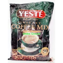 Yeste 3 in 1 Coffee Mix 50 Sachetes