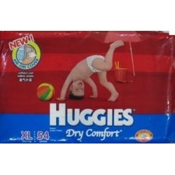 huggies dry XL 54 pcs