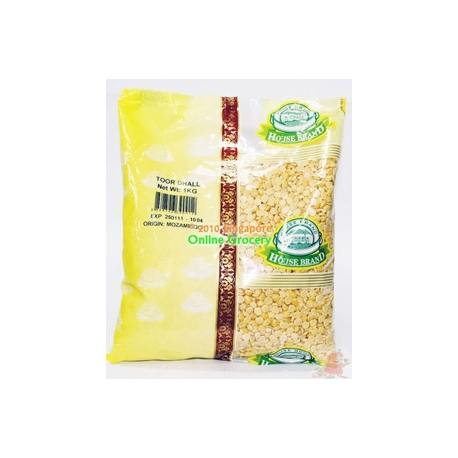 House Brand Toor Dhall 1kg