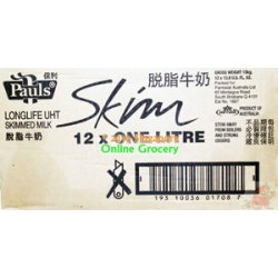 Pauls Skim Milk No Fat 1 Ctn