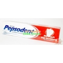 Pepsodent tooth past red