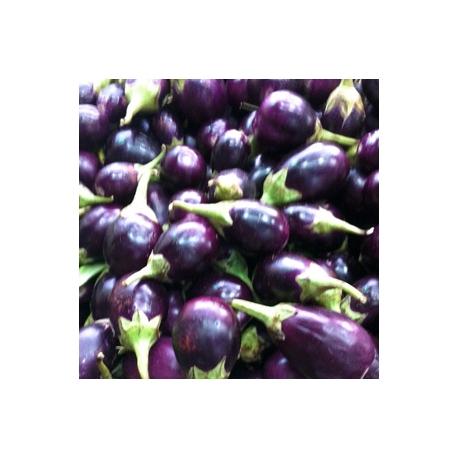 Purple Round Brinjal 500g