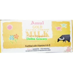 Amul Gold Extra Cream Milk Carton