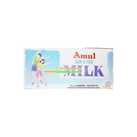Amul Taaza Slim Milk Carton