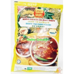 Babas Fish Curry Powder 250gm
