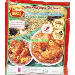 Babas Hot & Spicy Meat Curry Powder 250gm