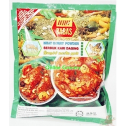 Babas Meat Curry Powder 1Kg