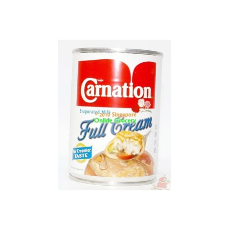 Carnation Evaporated Full Cream Milk 400gm