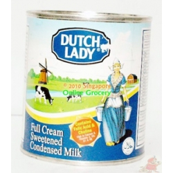 Dutch Lady Full Cream Sweetened Condensed Milk 380gm