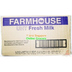 Farmhouse uht milk carton