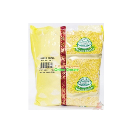 House Brand Moong Dhall 1Kg