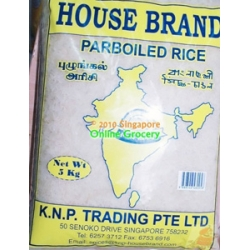 House Brand Parboiled Rice 5kg