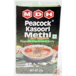 MDH Peacock Kasoori Methi 25gm