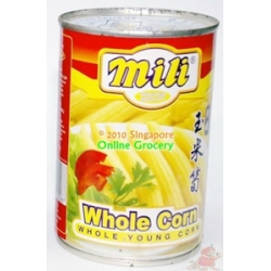 Mili Whole Young Corn 400gm