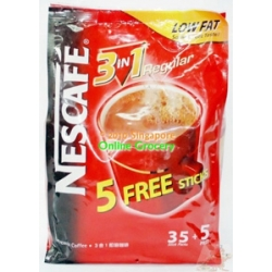 Nescafe 3 in 1 Regular 25 Sticks