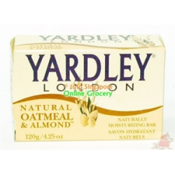 Yardley London Oatmeal & Almond Soap 120gm