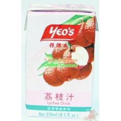 Yeos Lychee drink
