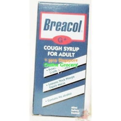 Breacol Cough Syrup For Adult 60ml