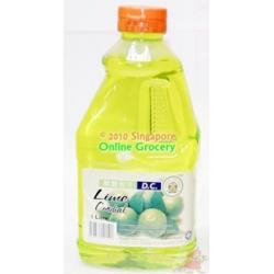 DC Lime Cordial 1L