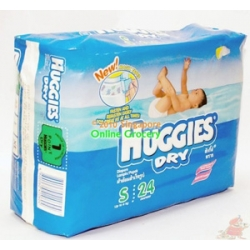 Huggies Dry Pampers Small 24 Diapers