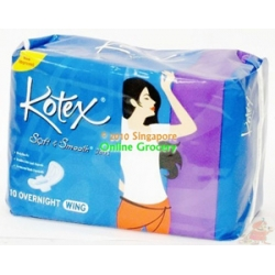 Kotex 10 Over Night Wing 10 Pads