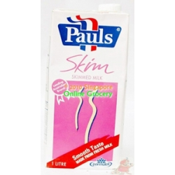 Pauls Uht Whole Milk 1 Ctn