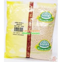 White Urad Whole 1kg