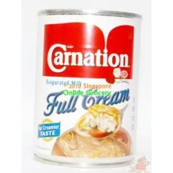 Carnation Evaporated Full Cream Milk 400gm