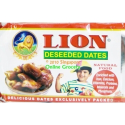 Lion Deseeded Dates 500gm