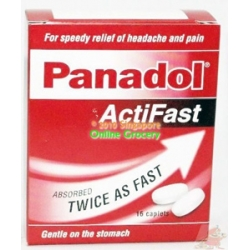 Panadol ActiFast 16 Caplets