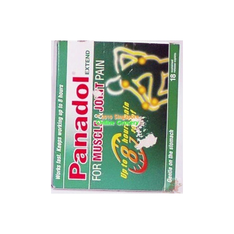 Panadol Extend For Muscle & Joint Pain 18 Caplets